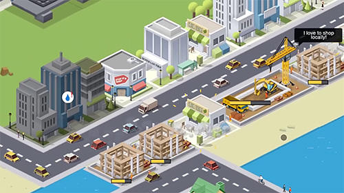 Economic strategy games Pocket city in English