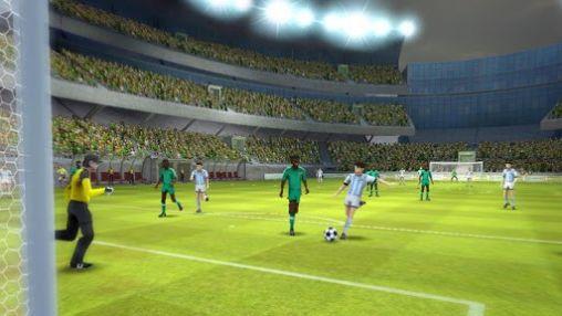 Brazil Germany world cup. Striker soccer: Brasil auf Deutsch