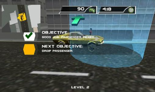 Crazy taxi driver: Rush cabbie Screenshot