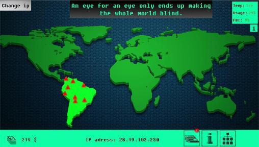 Strategiespiele Cyberpandemic für das Smartphone