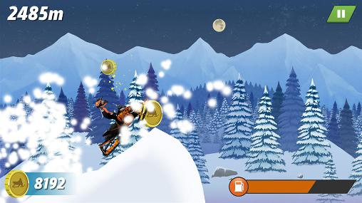 Arctic cat: Extreme snowmobile racing Screenshot