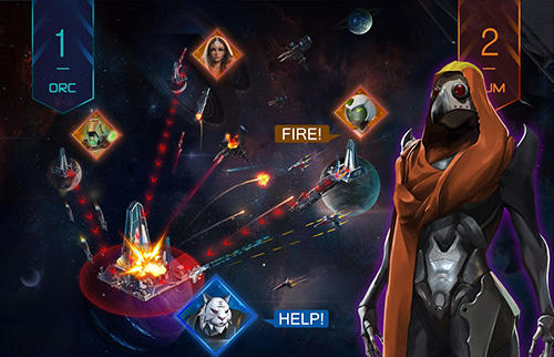 Online-Strategiespiele Battle space: Strategic war auf Deutsch