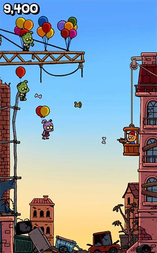 Actionspiele Invader Z: The rise of zombies für das Smartphone