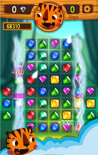 Tiger: The gems hunter match 3 для Android