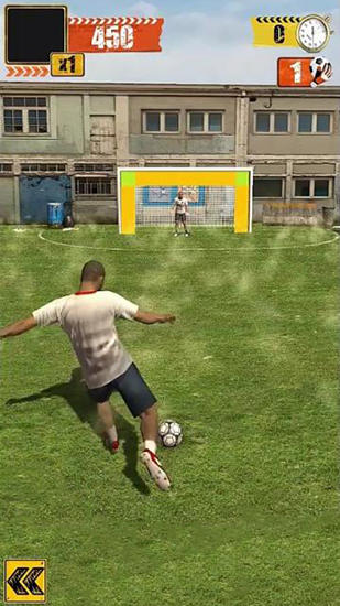 Street soccer flick for Android