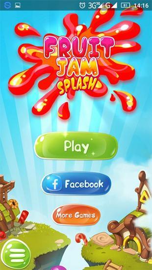 Fruit jam splash: Candy match Screenshot