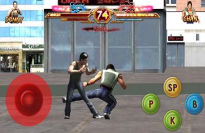 Des Drachens Rückkehr: Kampfkunst-Krieger für iPhone