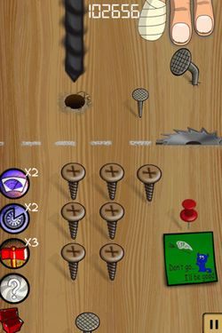 Screenshot Swoosh! on iPhone