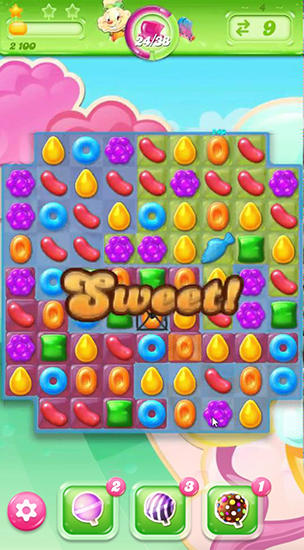 Candy crush: Jelly saga для Android