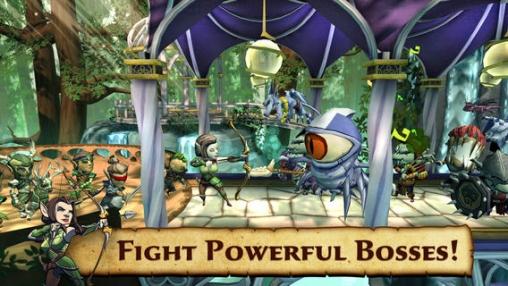 Arcade-Spiele: Lade Verteidiger und Drachen auf dein Handy herunter