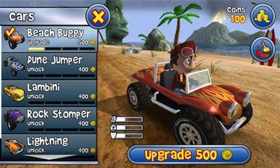Rennspiele Beach Buggy Blitz für das Smartphone