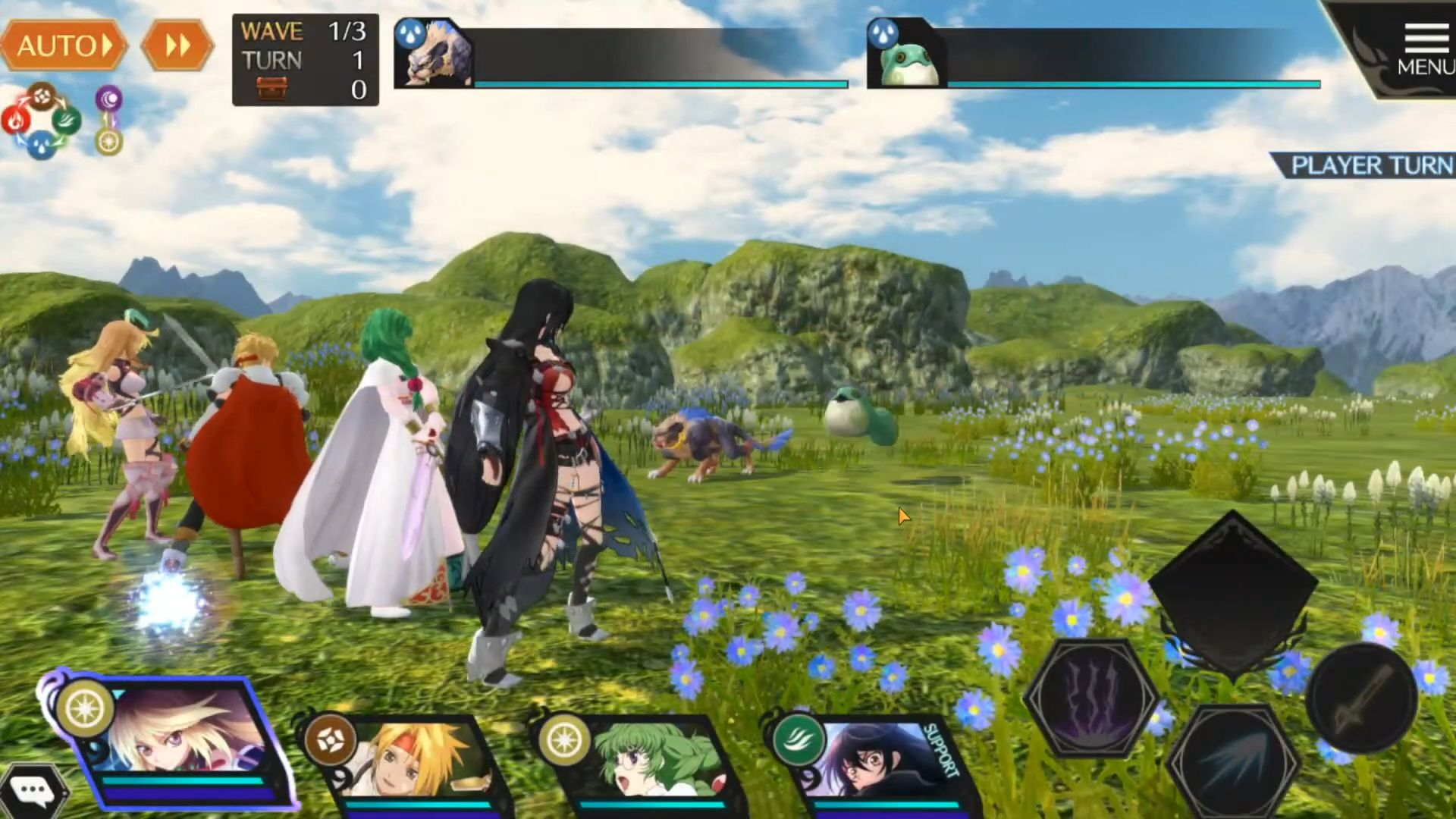TALES OF CRESTORIA pour Android