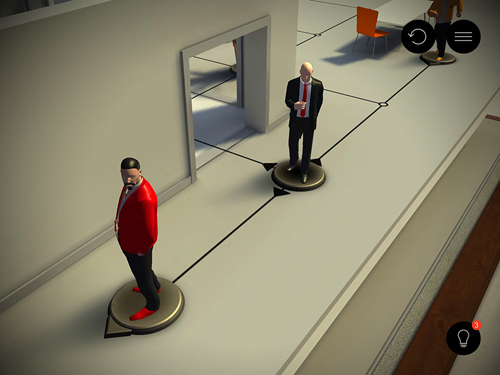 Hitman go in Russian