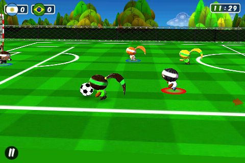 Chop chop: Soccer for iPhone