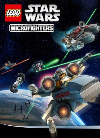 логотип Лего Звёздные войны: Микроистребители