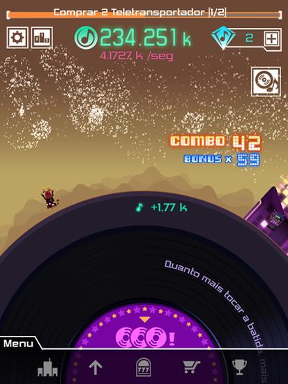 Groove planet Screenshot