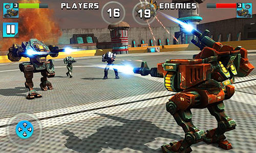 Robot epic war 2017: Action fighting game для Android