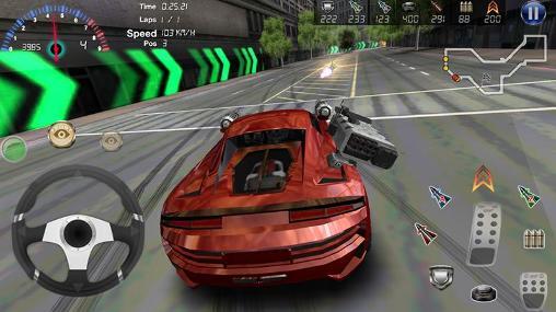 Rennspiele Armored сar 2 für das Smartphone