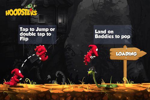Arcade-Spiele: Lade Hoodsters auf dein Handy herunter