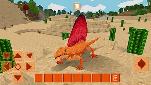 Dinocraft: Survive and craft screenshot 1