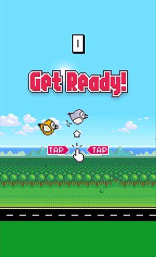 Arcade Happy bird für das Smartphone