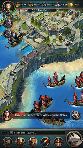 Online-Strategiespiele Oceans and empires auf Deutsch
