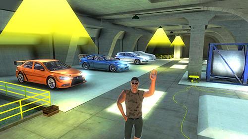 Lancer Evo drift simulator Screenshot