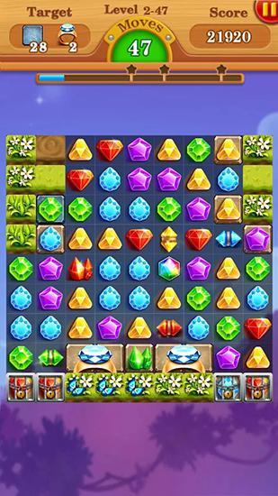 Arcades Jewels star legend: Diamond star pour smartphone