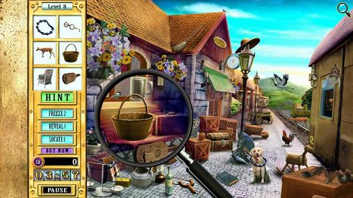 Hidden objects games Sherlock Holmes: The valley of fear in English