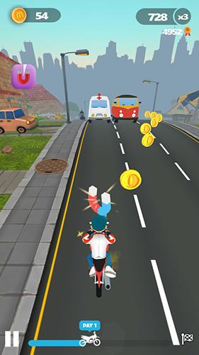 Arcade-Spiele Moto Max für das Smartphone