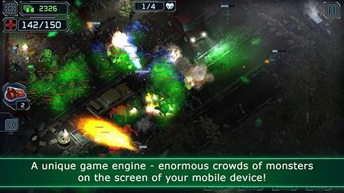 Alien-Spiele Alien shooter TD auf Deutsch