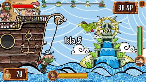 Rope pirate escape screenshot 2