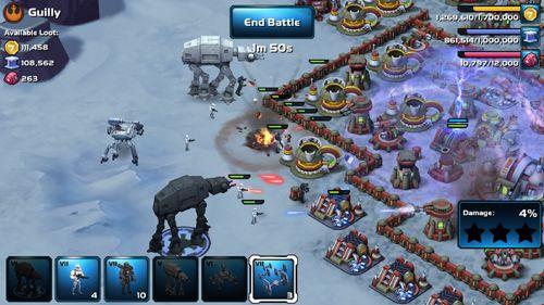 Onlinespiele: Lade Star Wars: Commanter. Welten im Konflikt auf dein Handy herunter