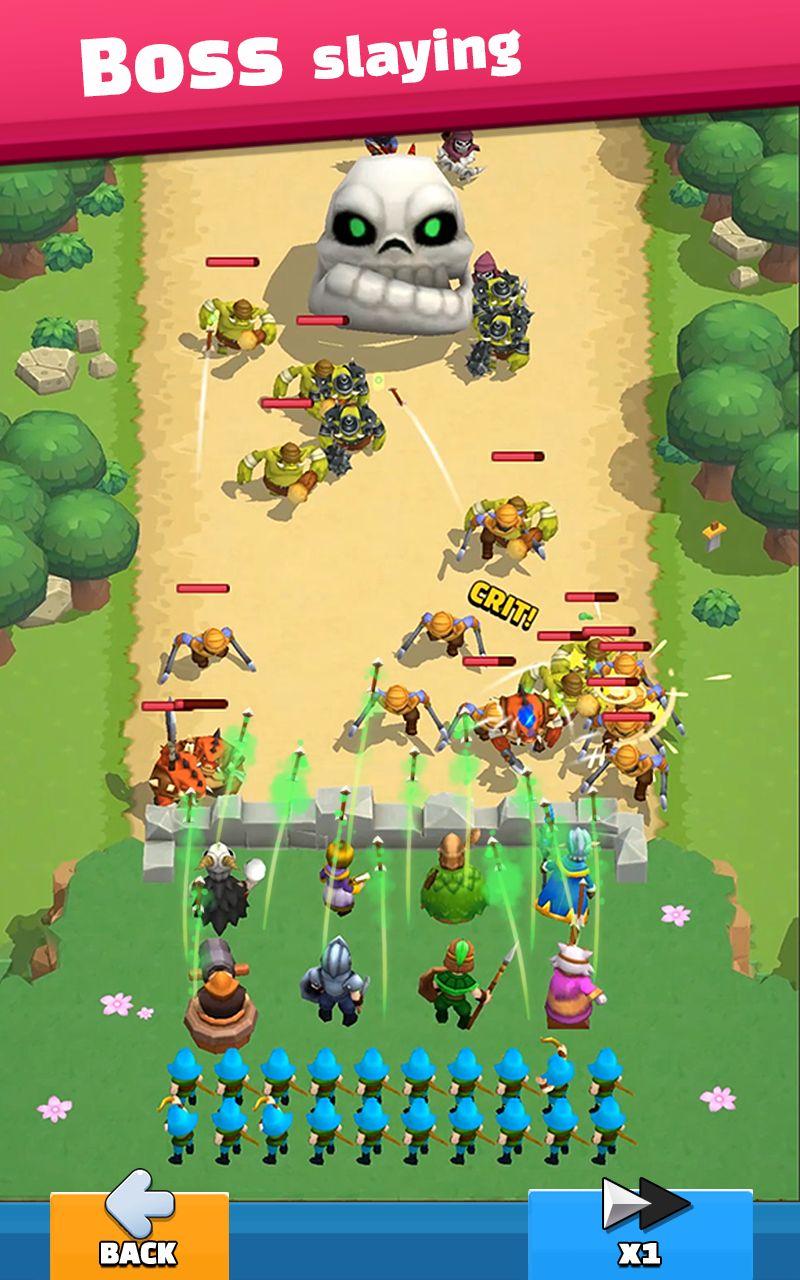Wild Castle: 3D Offline Game pour Android