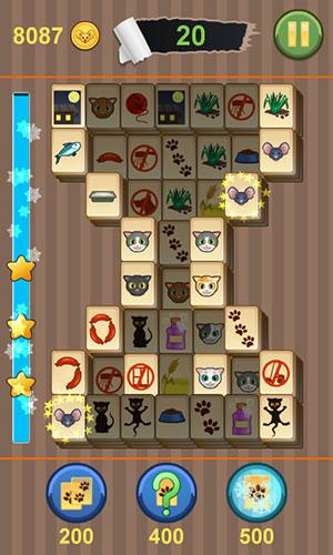 Mahjong: Titan kitty für Android