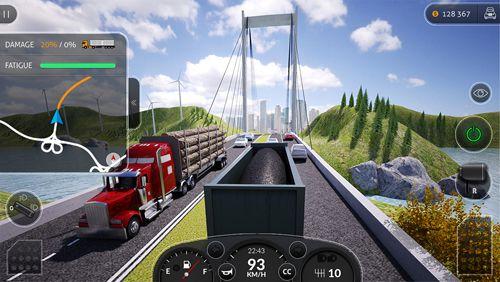 Simulation: Lade Truck Simulator Pro 2016 auf dein Handy herunter