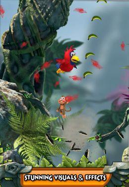 Arcade-Spiele: Lade Springe durch Dschungel auf dein Handy herunter