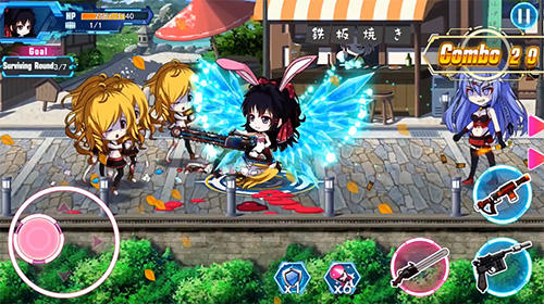 Gunfight girls for Android