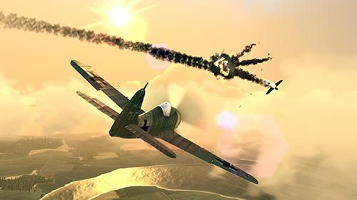 Скріншот Warplanes: WW2 dogfight на iPhone