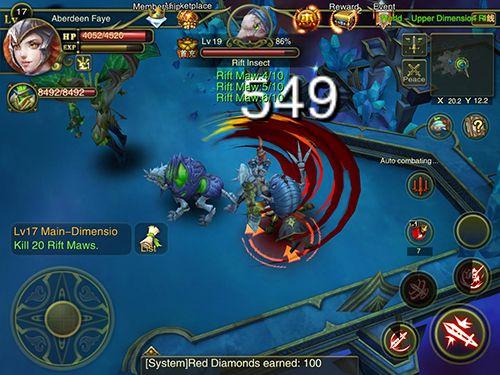 Jogos RPG: faça o download de Aurora dos imortais para o seu telefone