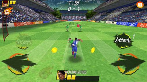 Football king rush screenshots