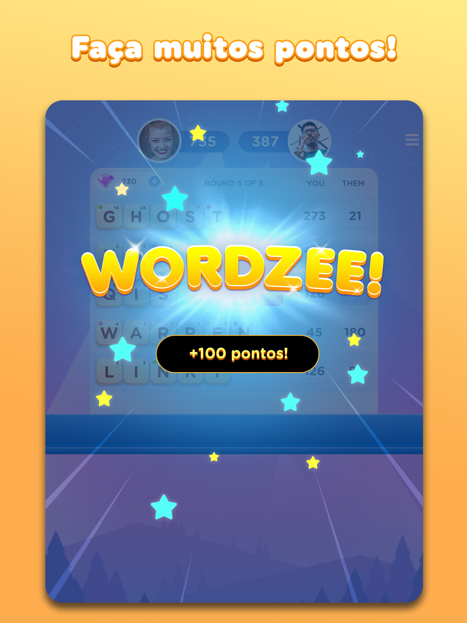 Wordzee! captura de tela 3
