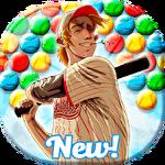Baseball bubble shooter: Hit a homerun icono