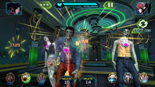 Online games Beast busters featuring KOF in English