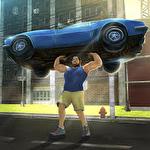 Hunk big man 3D: Fighting game Symbol