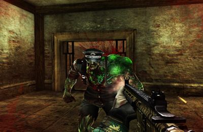 Screenshot Kampf mit den Zombies auf dem iPhone