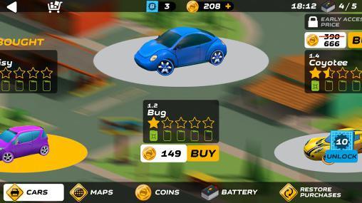 Autospiele Splash cars auf Deutsch