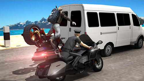 Police vs thief: Moto attack pour Android