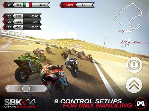 Rennspiele: Lade SBK14: Offizielles Handy Game auf dein Handy herunter