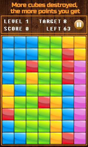 Arcade Smash the cubes für das Smartphone
